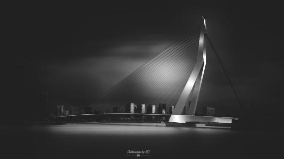 Rotterdam Erasmus Brücke