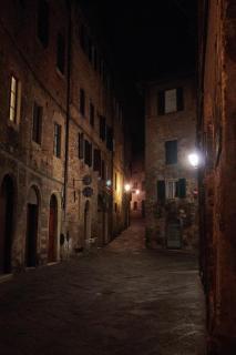 Gasse in Siena