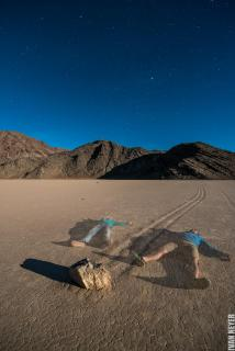 Rock Racetrack - Death Valley - USA