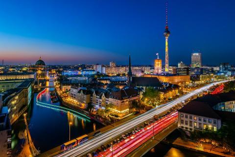 Berlin beim Festival of Lights