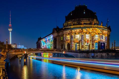 Bode Museum beim Festival of Lights