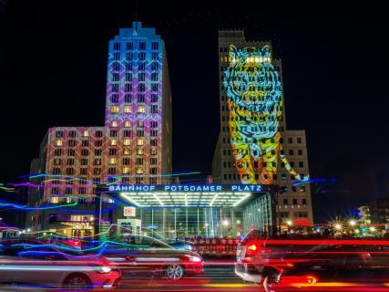Potsdamer Platz beim Festival of Lights