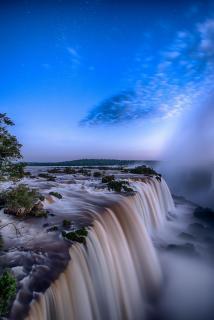 Iguazú Blue Hour
