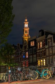 Westerkerk By Night