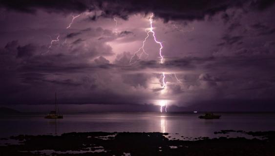 Blitz in Mauritius
