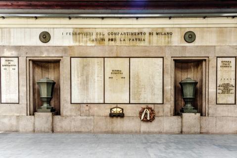 Milano Centrale vor Corona-Zeiten