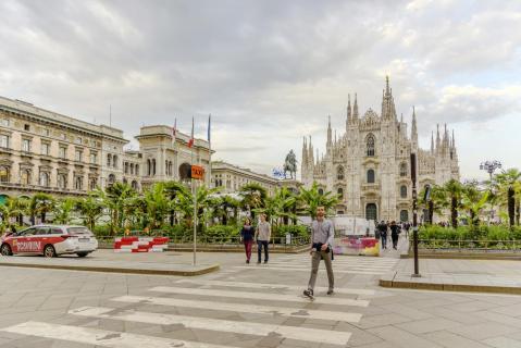 Duomo di Milano vor Corona-Zeiten