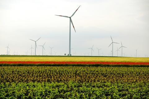 the beauty of wind power plants #1
