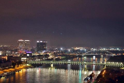 Beautiful Nightlights of Bratislava (1)