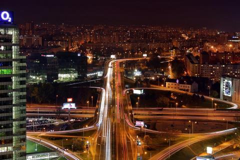 Beautiful Nightlights of Bratislava (2)
