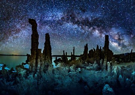 Die Tufas von Mono Lake