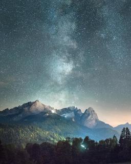 Zugspitze @night