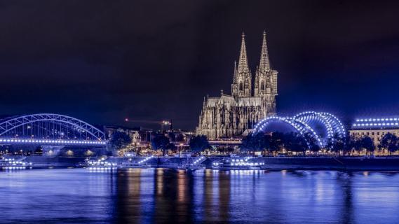 Köln in_blau