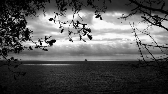 Herbststimmung am Meer
