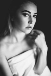 black and white Portrait 4