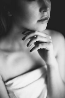 black and white Portrait 3