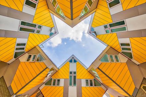 Kubushäuser in Rotterdam