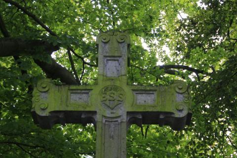 grünes Kreuz