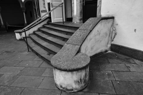 Treppenaufgeng