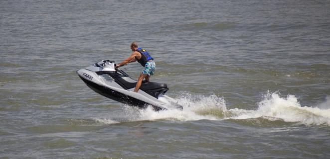 Speed auf dem Rhein