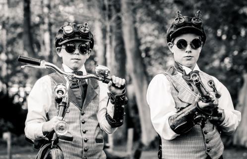... Steampunk Kids