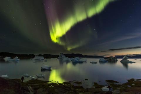 Augustnacht in Grönland