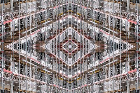 Baustelle bei Eschers
