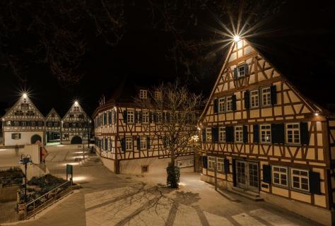Fachwerkhäuser in Ditzingen