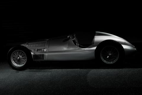 Mercedes Oldtimer Rennwagen