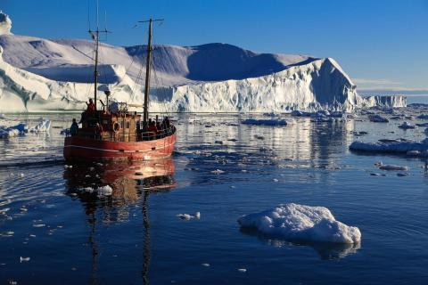 Discobucht Illulisat/Grönland
