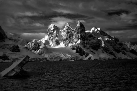 Antarktis Infrarot