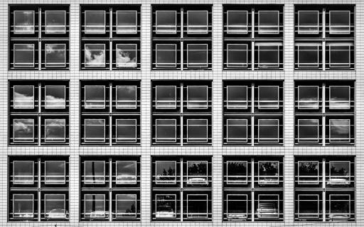 Parkhaus Fassade
