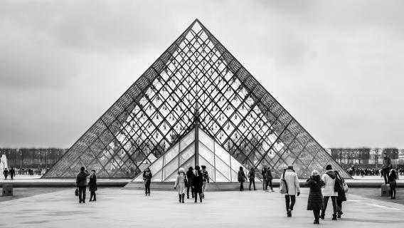 Glaspyramide...