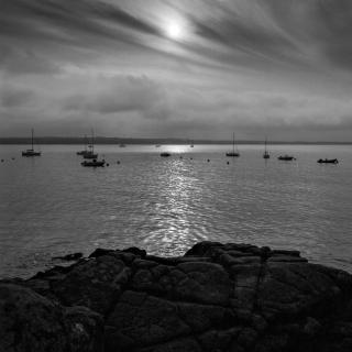 Morgendlicher Blick auf das Meer