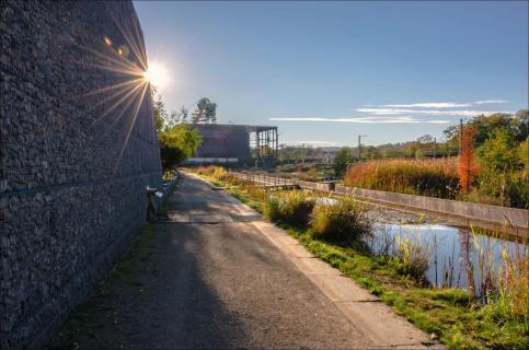 28 - gegen das Licht -Angela Sundheim -Wassergarten