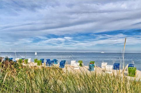 Am Strand von Wyk /Föhr