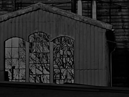 Traumfabrik in schwarz/weiß