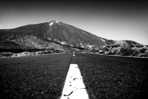 Road to Pico Del Teide