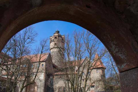 Die Ronneburg in Hessen