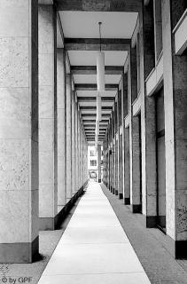 Arkade im Maitorkomplex