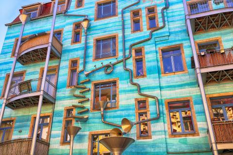Kunsthofpassage in Dresden