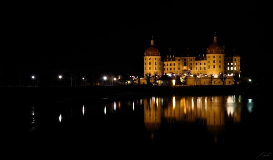 ...Weihnachtszeit auf Schloss Moritzburg...