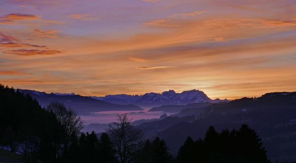 23 Landschaft im Abendlicht_Gustav_Sieber