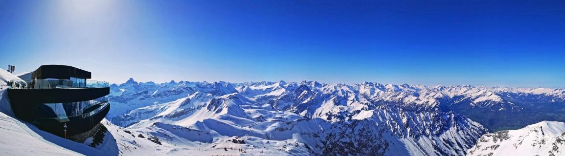Der 400 Gipfel Blick
