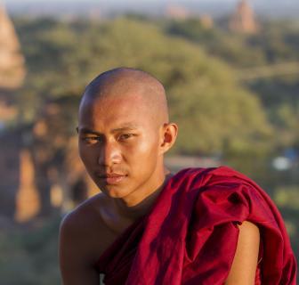 Buddhistischer Mönch - Roland Fuchs