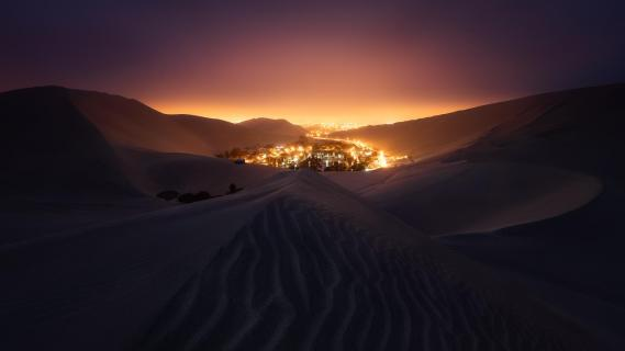 Huacachina Night
