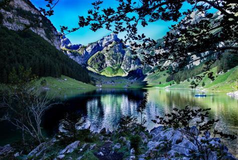 Seealpsee in der Schweiz