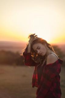 Modelshoot Abendsonne