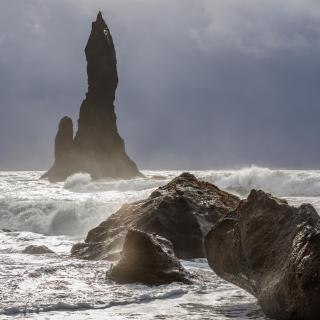 Island Reynisfjara Beach - Black Sand Beach