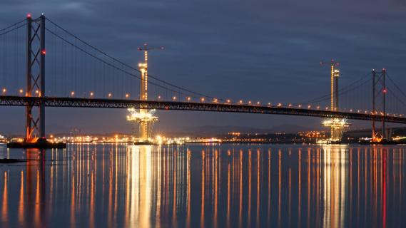 Firth of Forth at Night